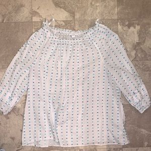 Charter Club 3/4 Sleeve Top